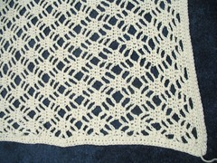 Blizzard shawl - stitch detail