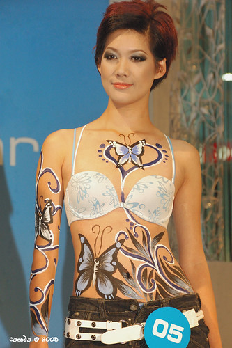 Sloggi presents Art in Body Painting Fashion | Body Painting2