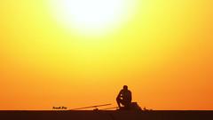 ... Il buon giorno si vede dal mattino. (FranK.Dip) Tags: desktop wallpaper italy fishing italia alba sole pesca salento puglia pescatore brindisi sfondo sfondi diga pescatori spettacolare dimagez6 digapuntariso dip2 llovemypics frankdip puntariso 08142008