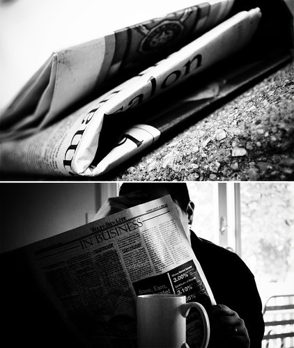 Day 325: Newspaper, Newspaper