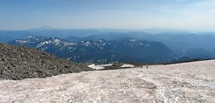 View from Muir Snowfield