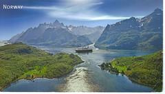 MS Lofoten in Trollfjorden, Norway