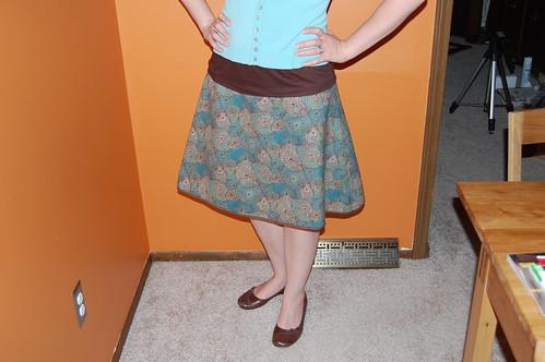 5 minute skirt