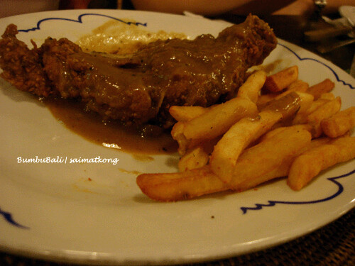 BumbuBali Chicken Chop