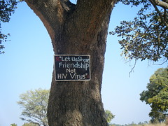 DSCF0518 (LearnServe International) Tags: travel school sign education aids hiv international learning service 2008 zambia shared cie monze learnserve lsz08 bystacy malambobasicschool
