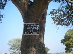 DSCF0518 (LearnServe International) Tags: travel school sign education aids hiv international learning service 2008 zambia shared cie monze learnserve lsz08 bystacy malambobasicschool