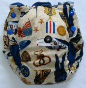 Large Fattycakes Fitted  **Police Pride**  $1 shipping!