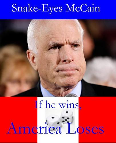 Snake Eyes McCain