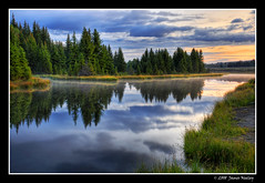 Looking North at Schwabachers Landing (James Neeley) Tags: nature sunrise landscape nikon searchthebest tetons grandteton hdr grandtetonnationalpark d300 gtnp schwabacherslanding 5xp jamesneeley