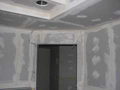 Remodel Kitchen Framing and Drywall 044 (MathTeacherGuy) Tags: home kitchen drywall project construction error repair framing renovation remodel electrical contractor errors carpenter mistakes goofs sheetrock measurement