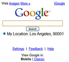 Search with my location