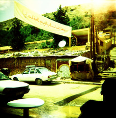 (Arnaud Tudoret) Tags: 120 6x6 film mediumformat holga xpro lomography lightleaks morocco squareformat crossprocessing maroc atlas xprocessed xprocessing leaks e6c41 bouguemez arnaudtudoret donkeysoho