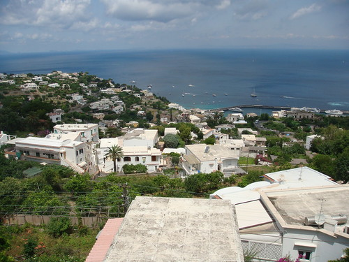 Vista de la Marina Grande - Capri