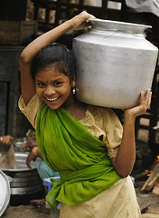 Fetching Water (bungoton) Tags: india women missing million 50 visakhapatnam