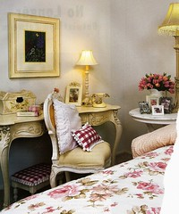 nice bedroom (lorryx3) Tags: cottage gingham chic shabbychic shab magazinescan