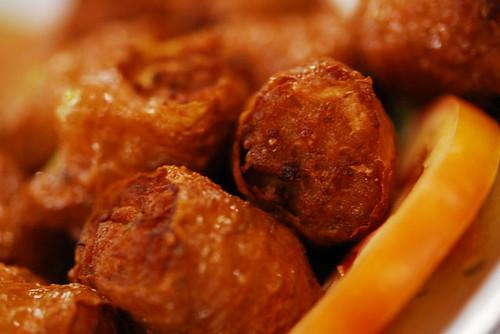 Deep fried pork and prawn roll - DSC_9669