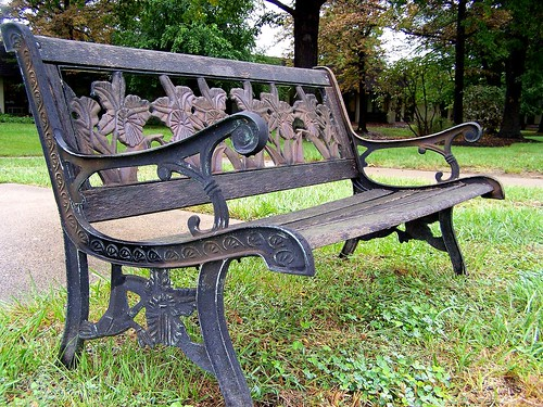 antique_parkbench