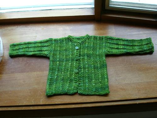 Baby Jonathan's sweater