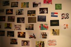 Exhibition on Activist Videoclips in Volkskrantbuilding, Amsterdam