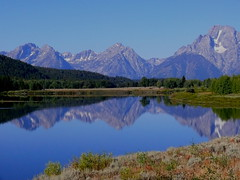 Classic Grand Teton NP (rolfspicture) Tags: autumn usa mountain lake reflection landscape np grandteton abigfave platinumphoto goldstaraward