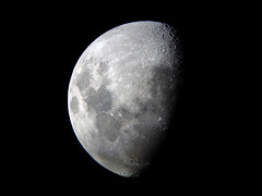 First Quarter Moon (wrath1) Tags: luna astrophotography moonphotos sonyt200 oriondobson