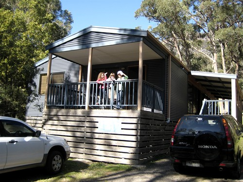 Our house in Halls Gap
