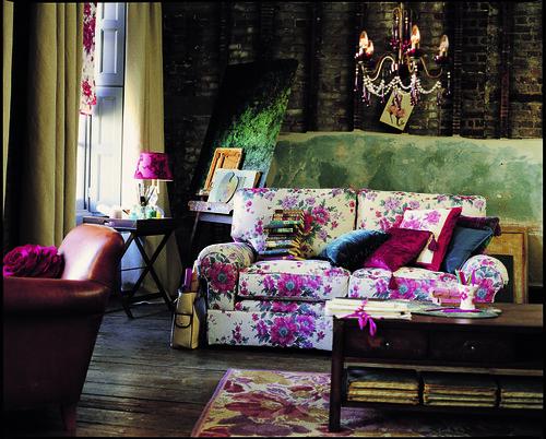 fabric sofa laura ashley