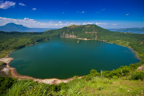 The Mouth of Taal Volcano