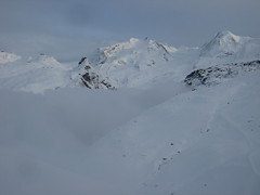 Monte Rosa - Dufourspitze 15,203 and Lyskamm 14,852 (lofotonlofoton) Tags: monterosa dufourspitze lyskamm