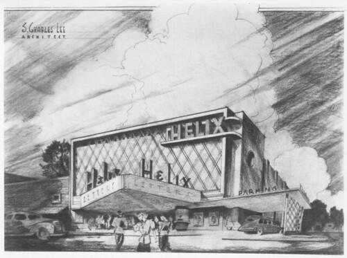 Helix Theatre, La Mesa concept render