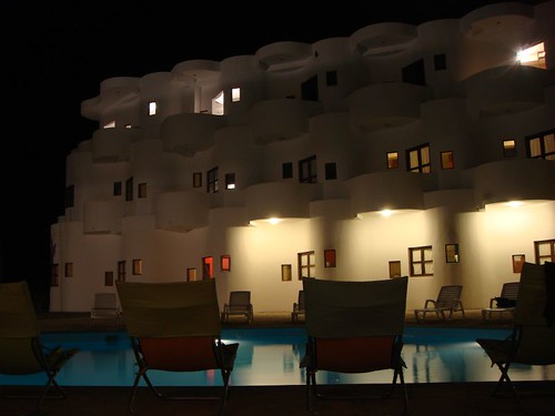 Loki Hostal by night...