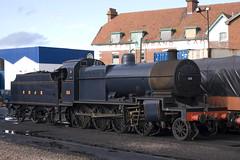 Minehead Station West Somerset Railway 131008 (rob  68) Tags: west station see railway somerset class number dorset 88 joint 280 minehead 7f sdjr 131008 wwwwestsomersetrailwaycouk wwwsdrtorguk