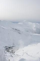 安政火口と富良野岳