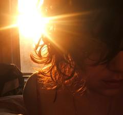 day three (petit hiboux) Tags: selfportrait sunrise hair 7days 7days3