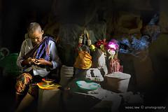 Old prayer (Isaac.lew) Tags: old people women asia cambodia prayer culture asean novice oldprayer potriate colorphotoaward aplusphoto