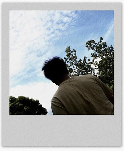 .蓝蓝的天—— by you.
