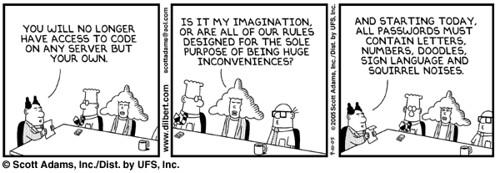 Dilbert Passwords