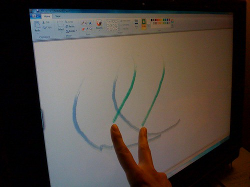 Multi-touch painting