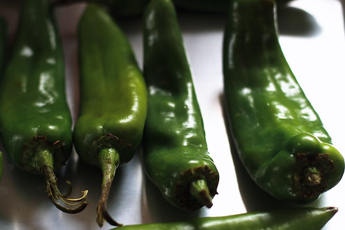 Hatch Green Chiles by Sarah Serendipity.