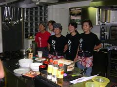 Staff Laialc del corso di Cucina