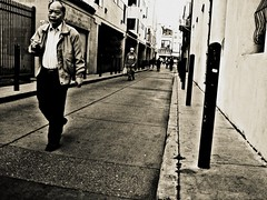 chinatown; (newflickr: jadeluxx) Tags: sanfrancisco china california street old people man public alley san francisco chinatown cigarette smoke chinese smoking alleyway elder chineseman stogs
