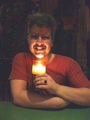 smiling smiling (*Angel@) Tags: candle diner smilingdavinci eelco 17109