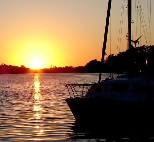 County Dock Sunset 2