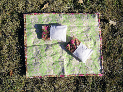Doll Quilt and Pillows