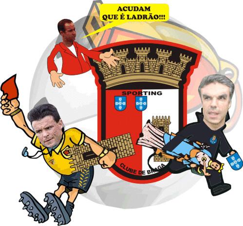 Árbitros Roubam Sporting de Braga