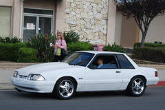 FORD MUSTANG 5.0 LX FOXBODY COUPE with SVT COBRA WHEELS (Navymailman) Tags: show california park ford car berry body farm fox trunk forever mustang fabulous 50 2008 coupe fords knotts notch fff buena notchback stang fabulousfordsforever foxbody foxbodymustang