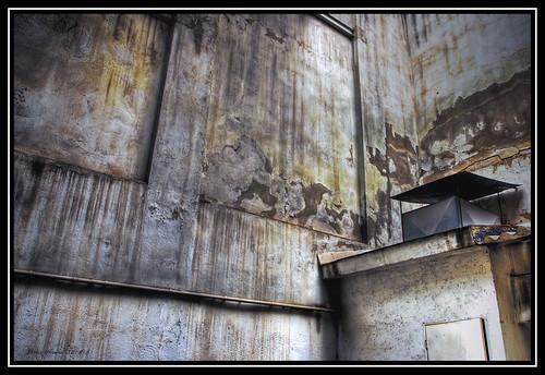 Interior desconchado