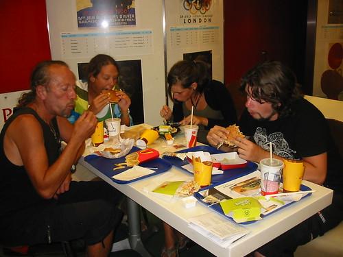 Smullen in de McDonald's