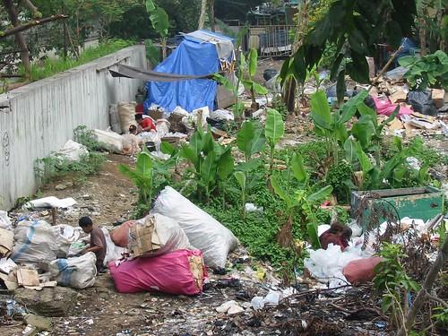 Paria's op de vuilnisbelt