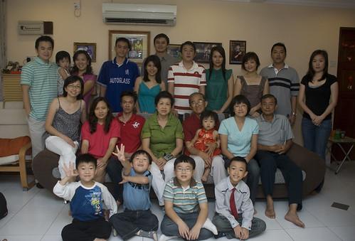 2009大年初一团圆照 - 摄于大舅家。